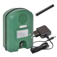 Weidezaun-Info Ultraschall Vertreiber mit Bewegungsmelder & BLITZ