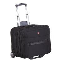 Wenger Koffer Businesstrolley mit Laptopfach 17 Zoll Business Basic, 47 cm, 31 Liter, schwarz, W73012295
