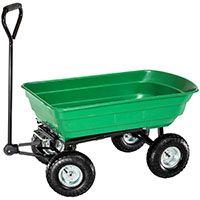 TecTake® Bollerwagen kippbar Kippwagen Transportkarre Gerätewagen belastar bis 300kg