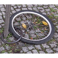 Fahrradschloss aufgebrochen - so gehen Sie vor