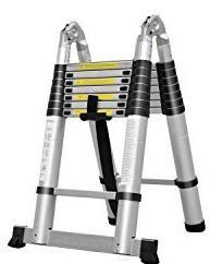 05-2-Masko-Teleskopleiter-320cm-Multifunktionsleiter-Aluleiter-Klappleiter-Anlegeleiter