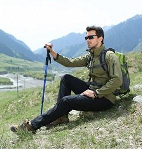 Mit dem AGPtek Wanderstock Pole Alpenstock reduzieren Sie Ihr Körpergewicht um 25%.