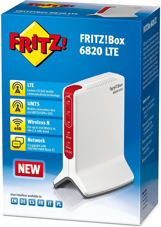 AVM FRITZ!Box 6820 LTE (LTE (4G) bis 150 MBit Box