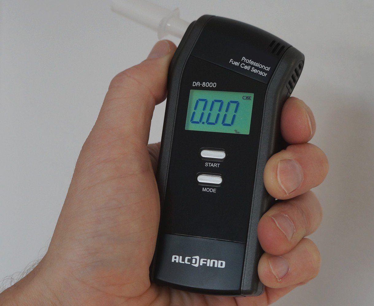 Alkoholtester Trendmedic Alcofind DA-8000 im Test