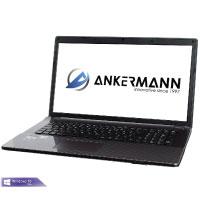 Ankermann-PC ., Microsoft Windows 10 Professional, i5-6300HQ 2,30Ghz, DVD Writer, 8GB RAM, 275GB SSD, EAN 4260409326446