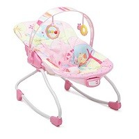 Babywippe und Stuhl Merry 2 in 1 von Moni