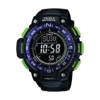 Casio Unisex Armbanduhr Collection Multi Task Gear Anaolg/ Digital Quarz Schwarz Resin SGW-1000-1AER