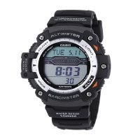 Casio Herren Armbanduhr Collection Digital Quarz Schwarz Resin SGW-300H-1AV