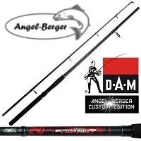 Die DAM Spinnrute Steckrute Angel Berger Custom Edition belegt Platz 5.