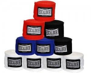 EXCALIBUR Boxset CLASSIC PRO mit Boxsack, 10 Unzen Boxhandschuhen, Trainerpratzen,Wickelbandagen und Springseil Bandagen