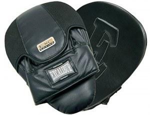 EXCALIBUR Set CLASSIC PRO mit Boxsack, 10 Unzen Boxhandschuhen, Trainerpratzen,Wickelbandagen und Springseil