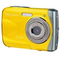 Easypix 10014 Unterwasser Digitalkamera Aquapix W1024-Y Splash in gelb
