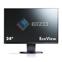 Eizo EV2450-BK 60 cm (23,8 Zoll Full HD) Monitor (DVI-D, HDMI, D-Sub, USB 3.0, 5ms Reaktionszeit) schwarz