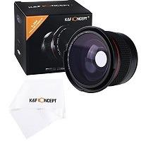 Das Fisheye Objektiv K&F Concept 58mm 0.35X Super-Fischauge Weitwinkelobjektiv wurde auf den 8. Platz gewählt.