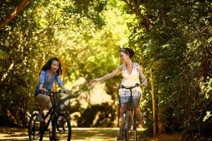 Frauen-Fahrrad
