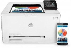 HP Color LaserJet Pro M252dw Farblaserdrucker (Drucker, LAN, WLAN, Duplex, HP ePrint, Airprint, USB, 600 x 600 dpi) App