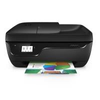HP Officejet 3831 Multifunktionsdrucker (A4, Drucker, Kopierer, Scanner, Fax, HP Instant Ink ready, WLAN, HP ePrint, Apple Airprint, USB, 4800x1200 dpi) schwarz