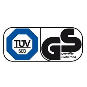 Die HUDORA Teleskop Trekkingstock sind mit dem GS und TÜV Siegel ausgestattet.
