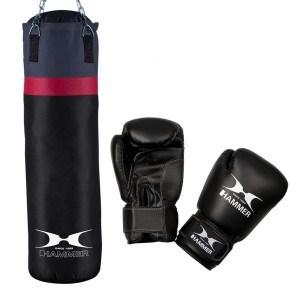Boxsäcke im Vergleich: Hammer Boxing Set Cobra