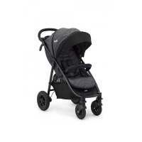 Joie Litetrax 4 Air Buggy Sportwagen Chromium in der Vollansicht