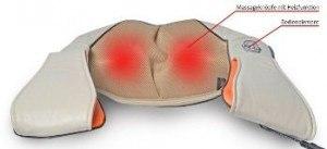 Medivon KFZ 12 Volt Massagegerät Massage Shiatsu Knetmassage