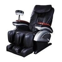 Naipo Shiatsu Massage-Stuhl Massagesessel mit S-Schiene, Heizungs-Therapie, Luft-Massage-System, Klopfen, Schlagen, Rollen und Kneten für den ganzen Körper