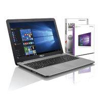 ASUS (15,6 Zoll) Notebook (Intel Core i3-4005U, 8GB RAM, 750GB, Intel HD, HDMI, USB 3.0 + Type-C, WLAN, DVD±RW, Windows10 Prof.64