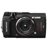Olympus Tough TG-5 Digitalkamera (12 Megapixel, 25-100mm 1: 2,0 Objektiv, Feld-Sensorsystem, GPS, Manometer, Temperatursensor, Kompass) schwarz