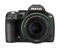 Pentax K 50 SLR-Digitalkamera (16 Megapixel, APS-C CMOS Sensor, 1080p, Full HD, 7,6 cm (3 Zoll) Display, Bildstabilisator) schwarz inkl. Objektiv DA 18-135 mm WR