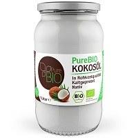Das PureBIO Kokosöl 1.000 ml bio, nativ und kaltgepresst ist unser Platz 10.