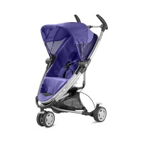Quinny Zapp Xtra Buggy (superleicht, mit komfortabler Ruheposition, inkl. Einkaufskorb, Sonnen- und Regenverdeck, Sonnenschirmclip, Adapter für die Babyschale) lila