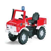 Rolly Toys 036639 Feuerwehr Unimog Farmtrac im Vergleich