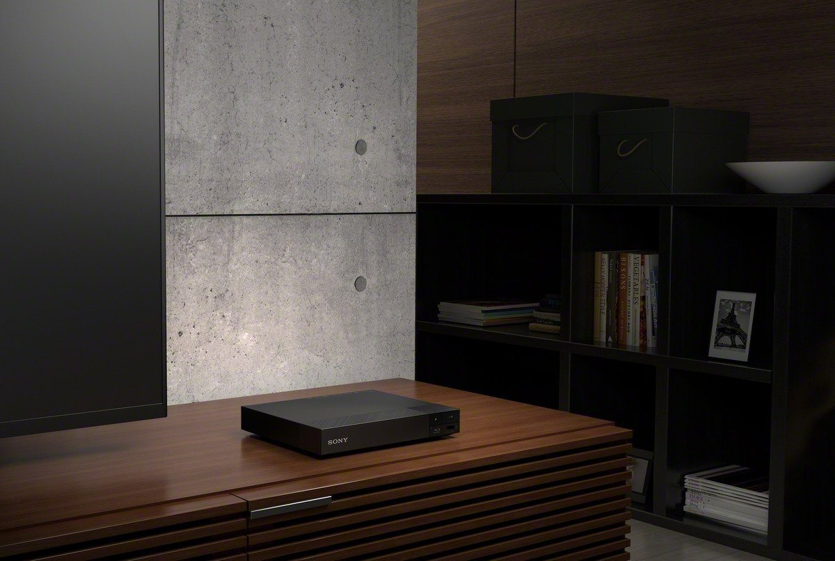 Sony BDP-S4500 Blu-ray Player (Super Quick Start, 3D und Sony Entertainment Network, 3D Upscaling) schwarz Design