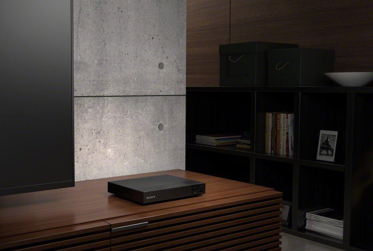 Sony BDP-S4500 Blu-ray Player (Super Quick Start, 3D und Sony Entertainment Network, 3D Upscaling) schwarz Design