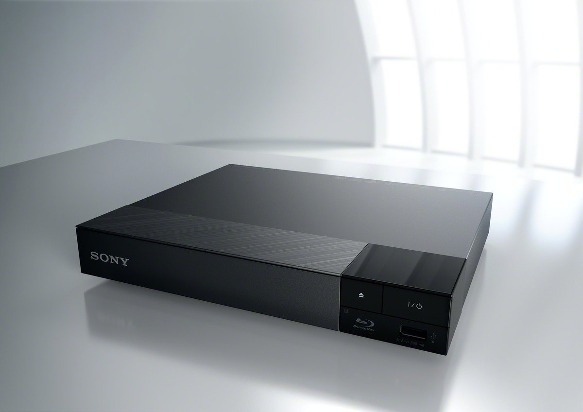 Sony Blu-ray Player (Super Quick Start, 3D und verbessertem Super WiFi ) schwarz