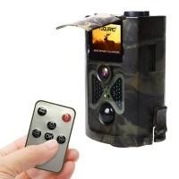 TOGUARD H50 Wildkamera mit 12 Mega Pixel, 1080P HD, Zeitraffer, 120° Weitwinkel, Infrarot-Nachtsichtfunktion mit 20m Sichtweite, Fernbedienung und Bewegungsmelder, kurze Auslösezeit