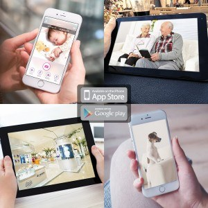 iBabyCare M2Pro Babyphone Usmain