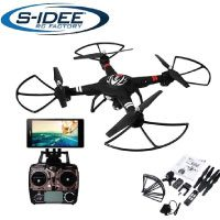 s-idee® 01628 Quadrocopter S303 Wifi HD Kamera FPV Höhenstabilisierung, One Key Return, Coming Home / Headless VR möglich, Drohne 360° Flip Funktion, 2.4 GHz mit Gyro, 4-Kanal, 6-AXIS System Drone mit Camera 720p