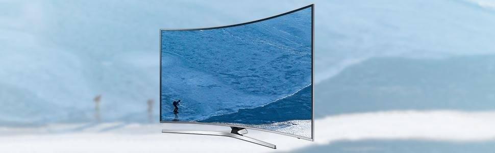 78 Zoll Curved UHD TV KU6509 (Silber)