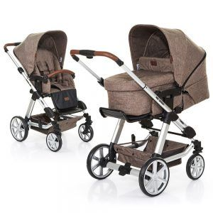 ABC Design Kombi-Kinderwagen Set Turbo 4 - inkl. 3in1 Tragewanne Neugeborene