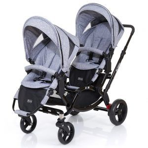 ABC Design Zoom - Zwillings und Geschwisterkinderwagen