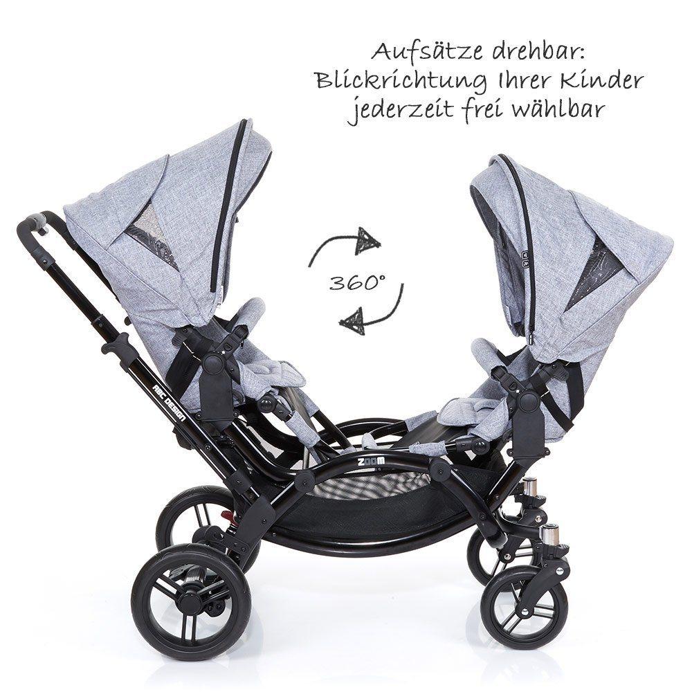 ABC Design Zoom - Zwillings- und Geschwisterkinderwagen