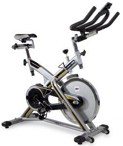 Das BH Fitness Indoorcycling Jet Bike Pro in Weiß/Rot H9172A