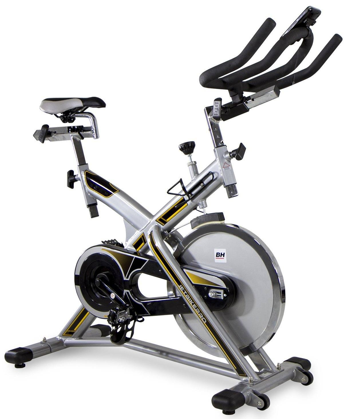 das bh fitness indoorcycling jet bike pro in wei rot. Black Bedroom Furniture Sets. Home Design Ideas