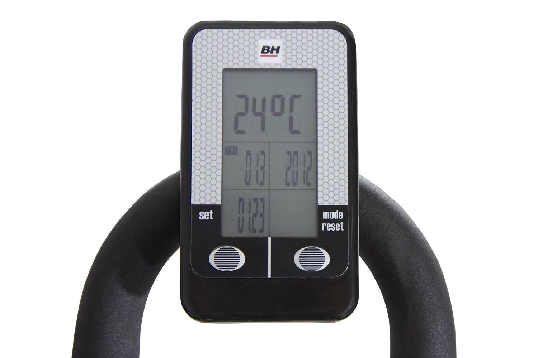 BH Fitness MKT JET BIKE PRO H9162RF, Indoorbike, PolyV-Riemen, 20 kg Schwunggewicht , Reibungssystem, Ideal für Anfänger mit dem indoor cycling