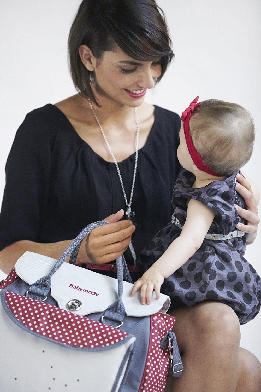 Babymoov Damen Wickeltasche Baby Chic, rot, A043510 Baby