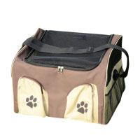 Beautylife66 Transportbox Hunde Katzen Langlebig Atmungsaktiv Braun