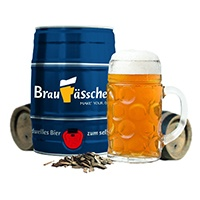 Bierbrauset von Braufässchen