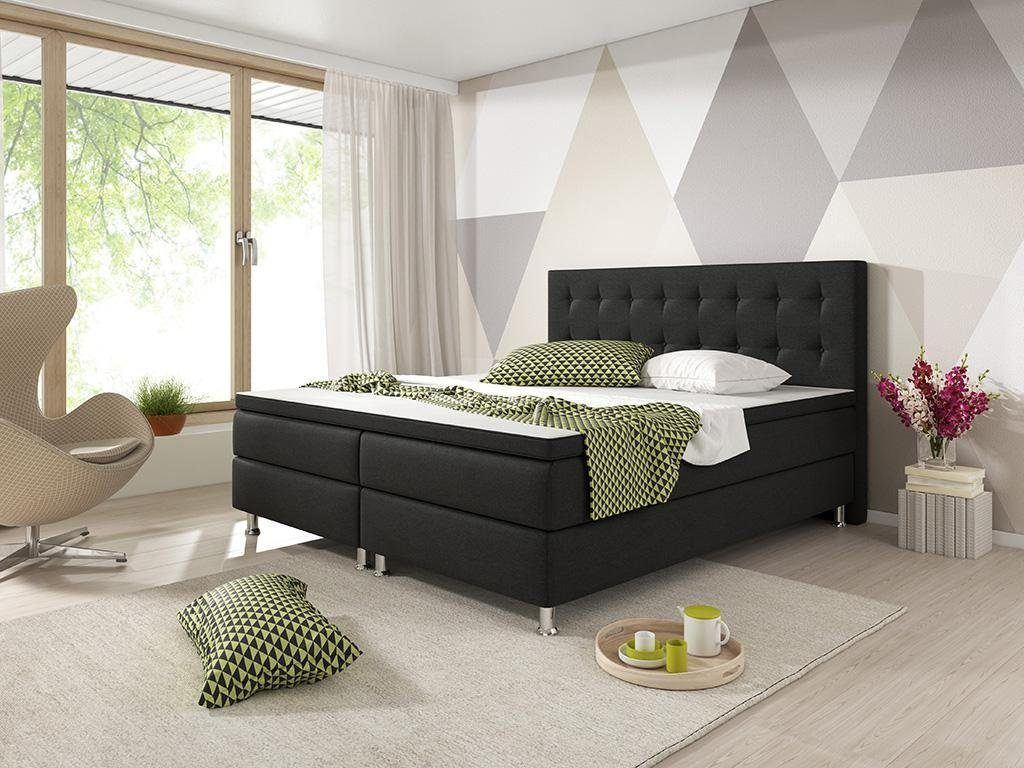 h ffner boxspringbett expertentesten. Black Bedroom Furniture Sets. Home Design Ideas