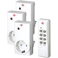 Brennenstuhl Funkschalt-Set RCS 1000 N Comfort